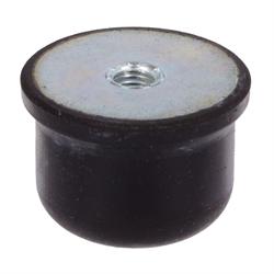 artikel 68513500 gummi metallpuffer typ ke durchmesser 80mm h he 60mm gewinde m12x12. Black Bedroom Furniture Sets. Home Design Ideas